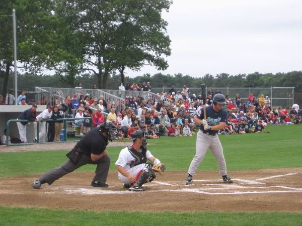 Cape Cod Vacation - Brewster Whitecaps vs YD Red Sox