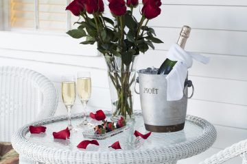 Cape Cod Bed and Breakfast - Champagne and Strawberries